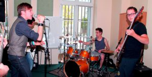 Répétitions dans les studios