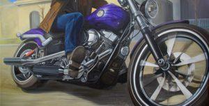 Peinture à l'huile - Caroline Chappet