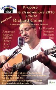 Chansons françaises avec Richard Cohen