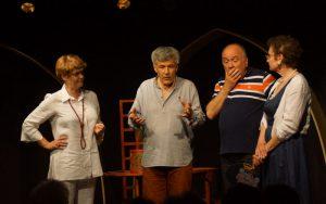 Château de Quatre interprété par les comédiens de la compagnie Les dodus dindons  mise en scène de Philippe Toutain.